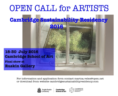 sustainability residency 2016